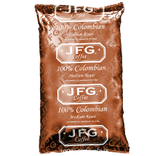 JFG 100% Colombian Whole Bean Coffee