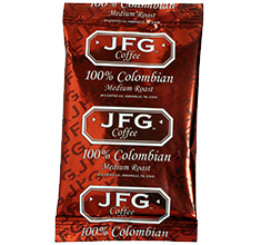 JFG 100% Colombian Urn Pack