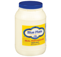 Blue Plate Heavy Duty Mayonnaise (plastic jugs)