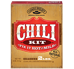 Carroll Shelby Chili Spice Pouches
