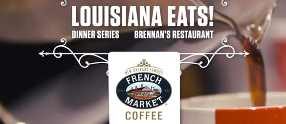 For over 125 years, French Market Coffee has proudly called New Orleans home.